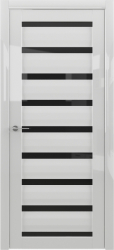 Сидней, белый (стекло черное, белое)