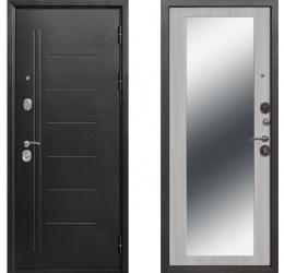 10 см Троя Серебро (Антик) Зеркало MAXI Дуб сонома