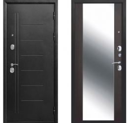 10 см Троя Серебро (Антик) Зеркало MAXI Венге
